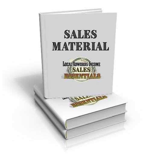 Sales material 1